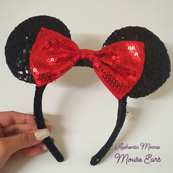 be49fed03c8 Minnie Mouse Ears (Authentic)